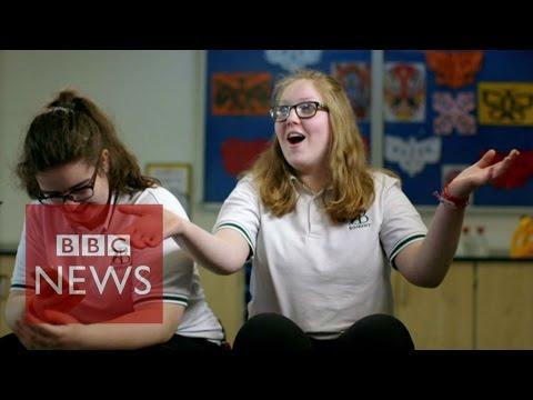 Chinese School: Swim, swam, swum - BBC News