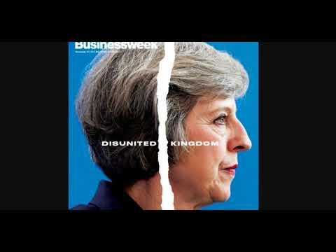 Entzweites Konigreich: Das Cover der Bloomberg Businessweek bringt das Brexit-Chaos auf den Punkt