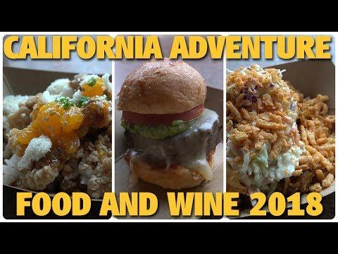 California Adventure Food and Wine 2018 | Disneyland Resort