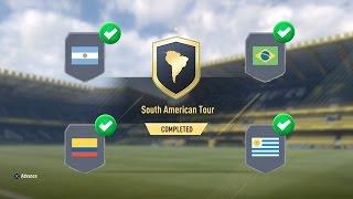 South American Tour Brazil Fut