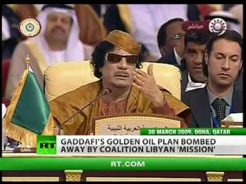 The Real Reasons for the Libyan War
