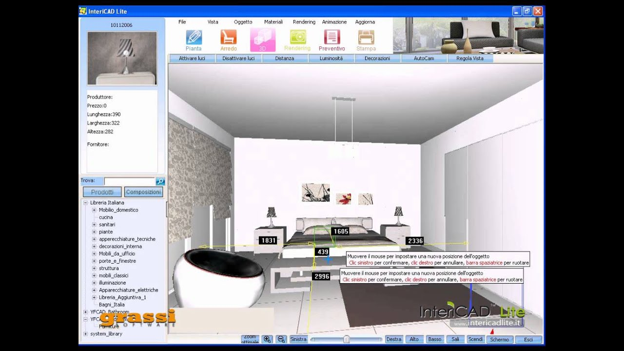 come fare un progretto di arredo d'interni in 5 minuti - intericad ... - Arredo Design Dwg