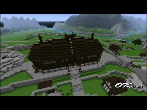 Скачать Skyrim HD для Minecraft