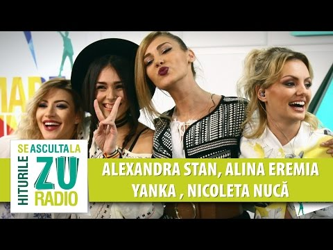 Alexandra Stan | Alina Eremia | Yanka | Nicoleta Nuca - Live la Marea Unire ZU