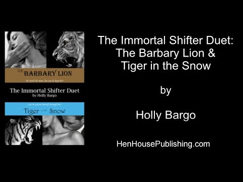 The Immortal Shifter Duet - The Barbary Lion AND Tiger In The Snow