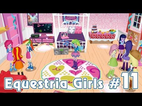 Пижамная вечеринка - игра Equestria Girls - #11
