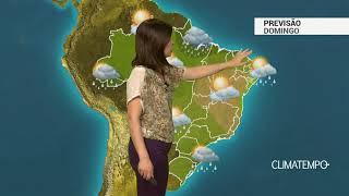 Previsão Brasil – Ar seco atua entre o Sudeste e o Nordeste