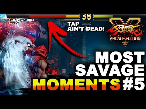SFV AE * MOST Ridiculous, Savage & Funny Moments #5