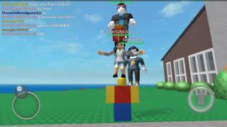 Collab! Part 3 [Roblox ] me, gt boy, myt chicken and lily licious
