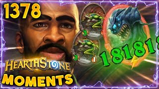 Are Those SINGLE DIGIT STATS? PATHETIC! | Hearthstone Daily Moments Ep.1378
