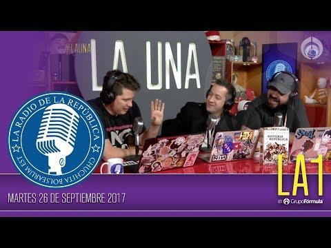 #LA1 - ¿Donde te agarró el temblor que cambio a México? - La Radio de la República - @ChumelTorres