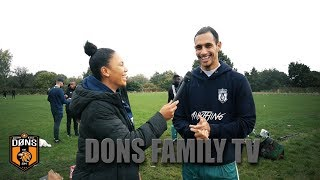 DONS FAMILY TV | DONS vs BARNEHURST | KENT CUP