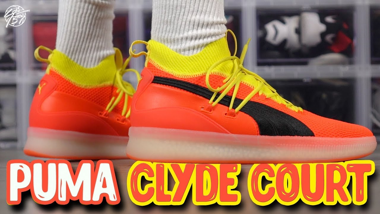 buy popular 86bed 08544 PUMA Clyde Court Disrupt First Impressions!