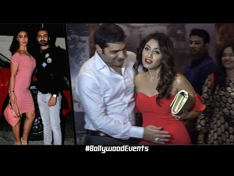 Arbaaz Khan & Manjari Fadnis At Special Screening Of Film Nirdosh | Bollywood Events