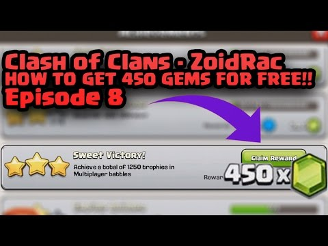Clash of Clans | Episode 8 | HOW TO GET 450 GEMS FOR FREE!!
