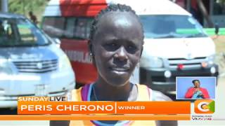 Ewet, Cherono brave the heat to soar | Mombasa international marathon #SundayLive