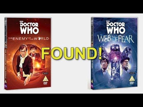 NINE Missing Doctor Who Episodes FOUND!!!