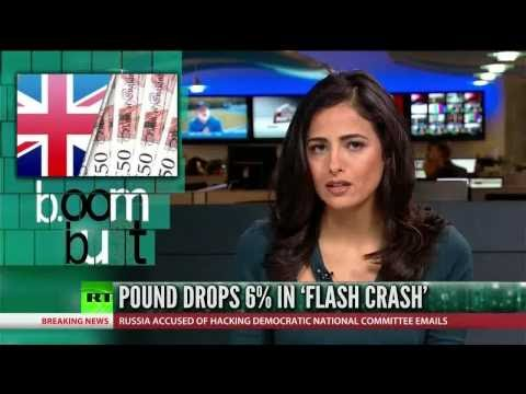 "[696] British pound drops 6% in temporary ""flash crash"""