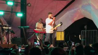 Khalid- Live Another Sad Love Song & Saved Acoustic!!! Twilight Concerts 6-22-17 MUST WATCH!