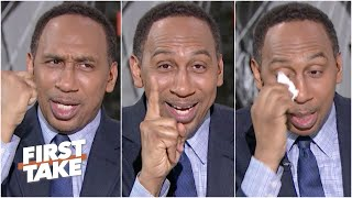 Stephen A.'s emotional reaction to the Knicks losing to the Nets | First Take