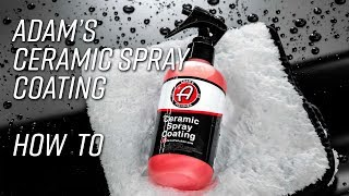 Easy to Apply Sprayable 9H Ceramic Coating | How To