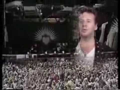 Simple Minds Real Live Barrowlands Glasgow 13.8.1991