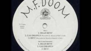 "MF DOOM - Gas Drawls (Original 12"" version)"