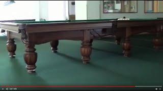 Бильярдный стол Герцог видео(www.bilard.com.ua - официальный сайт компании Snooker