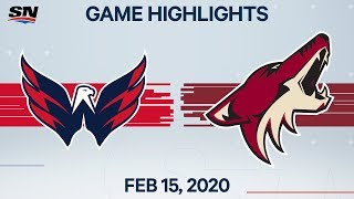 NHL Highlights | Capitals vs Coyotes - Feb. 15, 2020