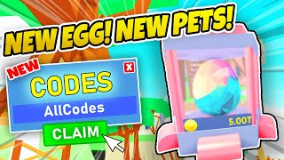 NEW EGG! - PET RANCH SIMULATOR CODES - UPDATE 21 (Roblox)