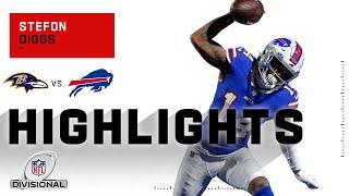 Stefon Diggs Stays Hot w/ 106 Yds & 1 TD | NFL 2020 Highlights