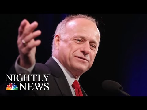 Rep. Steve King Under Fire For Comments On White Supremacy | NBC Nightly News