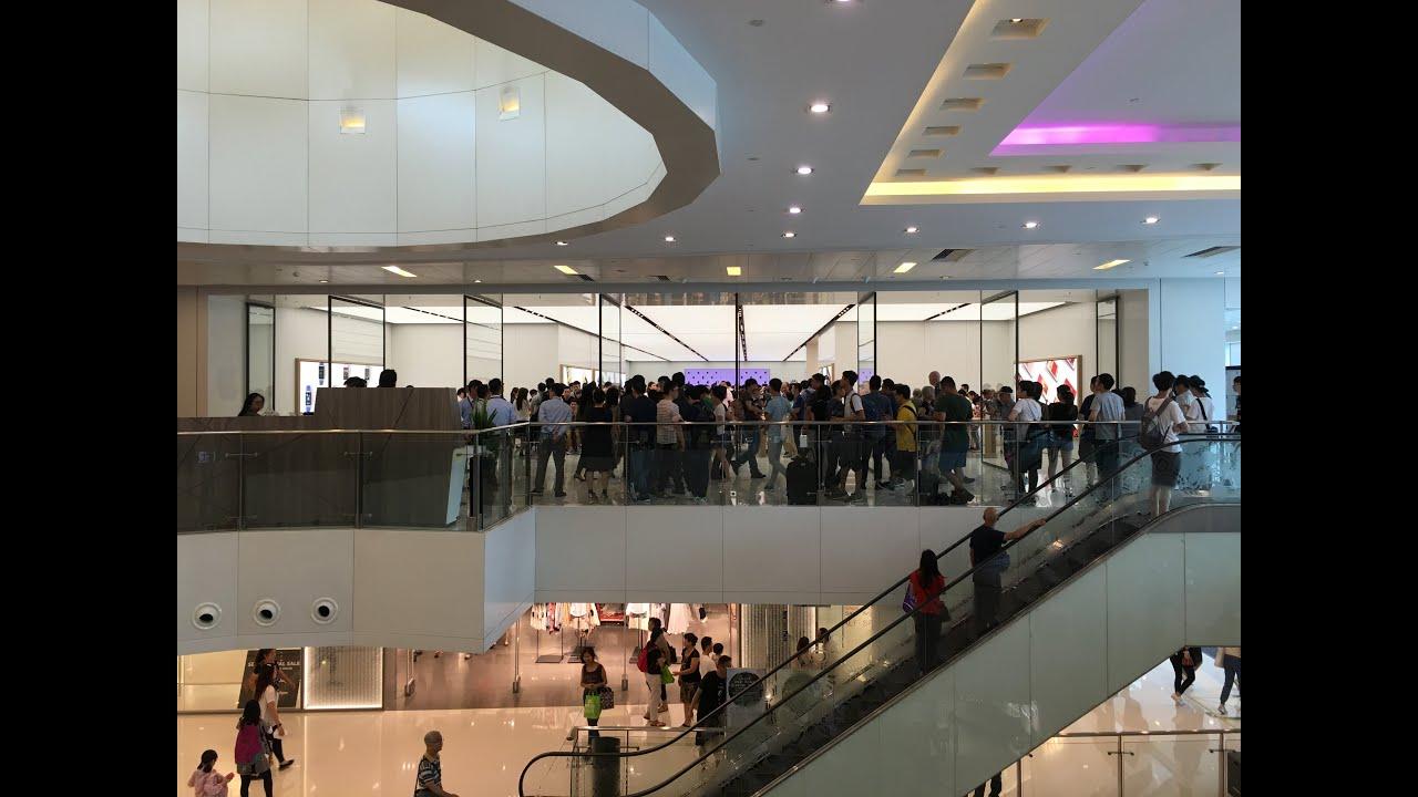 [Apple Store] - 30-06-2016 蘋果新城市廣場分店開幕現場直擊-Apple Store at Hong Kong New Town Plaza - YouTube