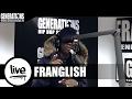 Franglish - Compte sur moi (Live des studios de Generations)