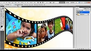 How to Create a 3D Film Strip in Photoshop