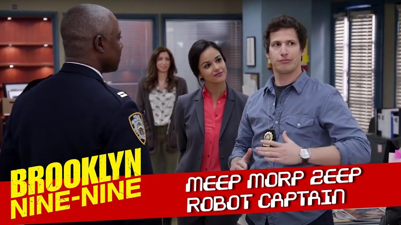Jake Meets Captain Holt | Brooklyn Nine-Nine
