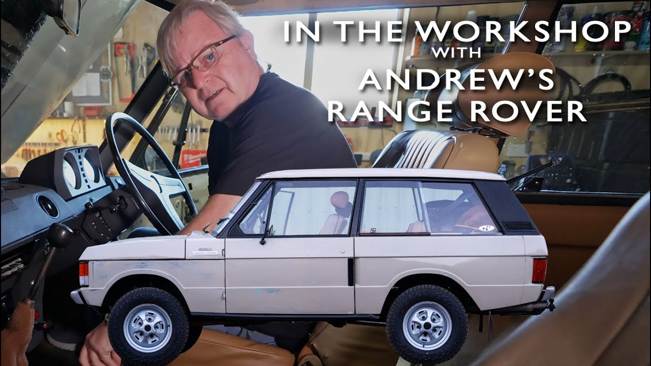 WORKING ON THE RANGE ROVER. Join me in my workshop    4xOverland