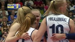 Salla Karhu scores for Finland to pave the way towards a 3-1 home victory over Croatia