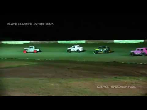 Canyon Speedway Park- DwarfCar Main March 14th 2015