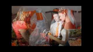 Оранжевая свадьба Завгородневых...