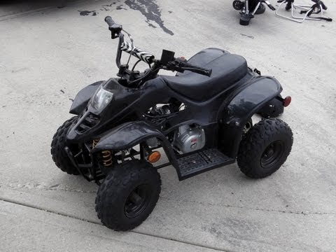 110cc Gio Quad / ATV Top Speed Run