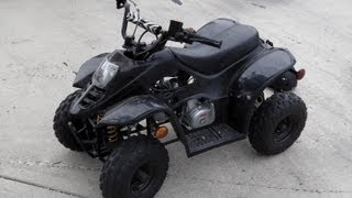 110cc Gio Quad / ATV Top Speed Run