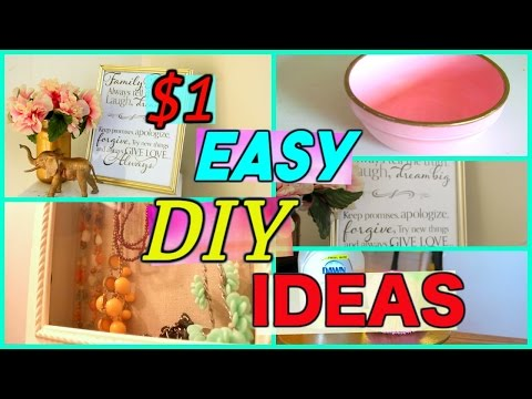 4 DOLLAR STORE DIY'S YOU MUST TRY | DOLLAR TREE DECOR PIECES | Sensational Finds
