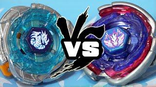BATTLE: Omega Dragonis 85XF VS Cosmic Pegasus F:D - Beyblade Legends