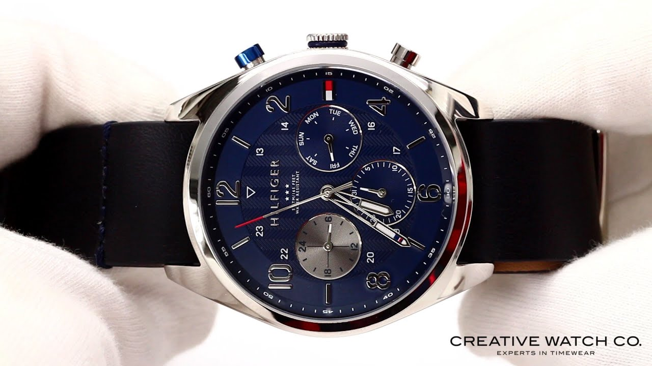 a00c5b4d Hands On With The Men's Tommy Hilfiger Watch 1791187 - YouTube