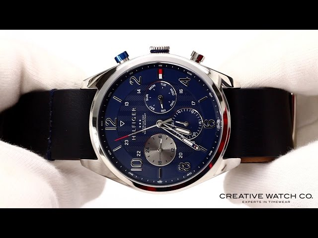 Hands On With The Mens Tommy Hilfiger Watch 1791187