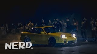 Auckland Invades Hamilton, New Zealand - Illegal Street Racing/Drifts
