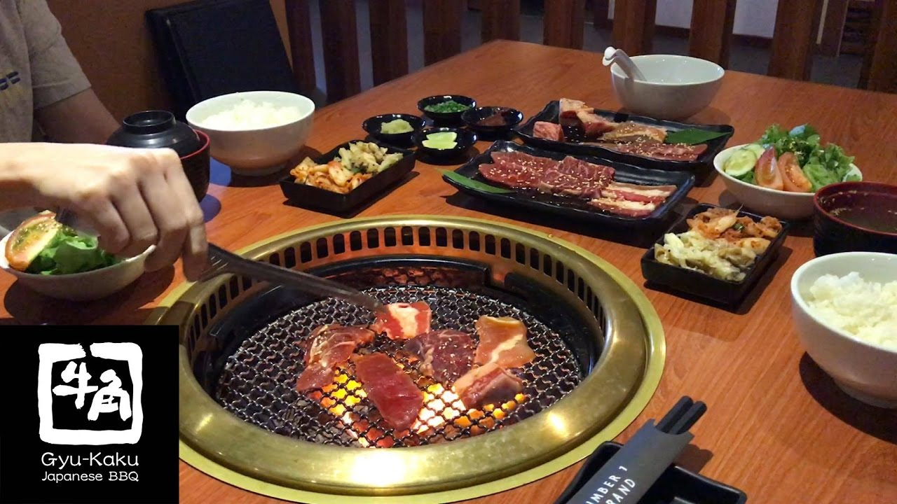 Gyu Kaku Japanese Bbq Lunch Set Youtube