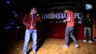 Repeat youtube video FILIPEK vs SZCZURES - Wojna o Wawel 2014 // eliminacje freestyle battle