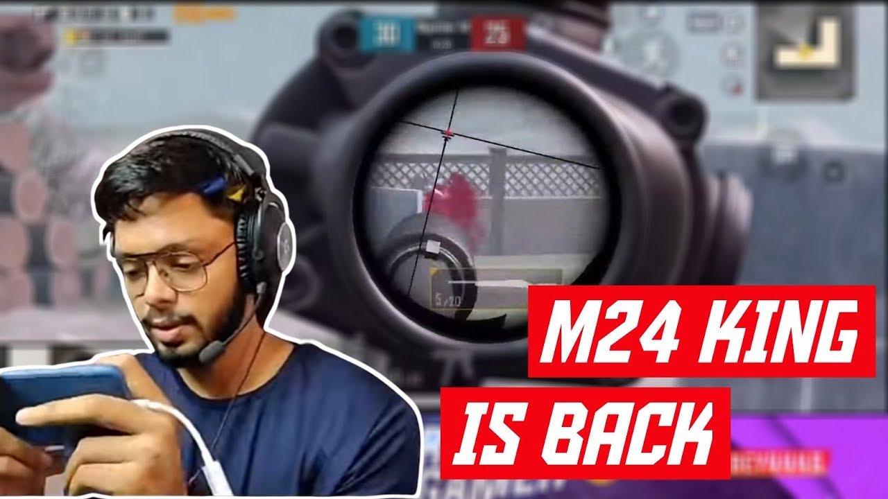 M24 Only After So Long | 1st Match After Ban | Android gamer | Pubg Mobile